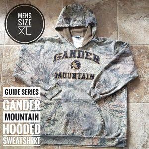 GUIDE SERIES  GANDER MOUNTAIN HOODED SWEATSHIRT